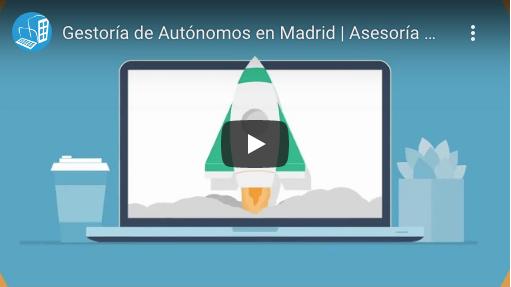 video del servicios de autónomos de Asesoría Madrid gesys