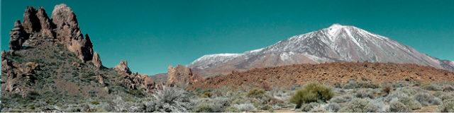 teide,montaña nevada,rocas