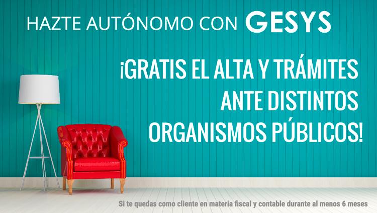 promoción gesys autonomos